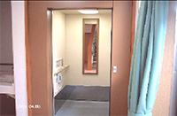 居室へはエレベーターで